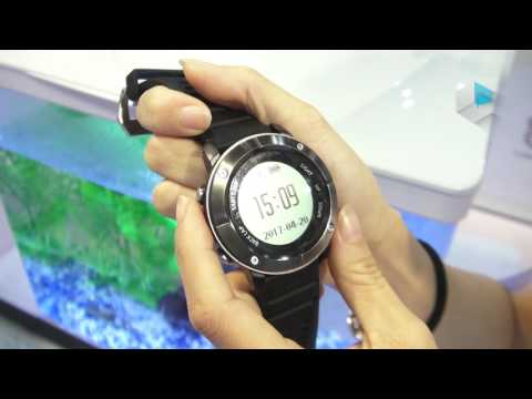Uwatch Uwear UW80 waterproof sport smartwatch with Mediatek MT2523G