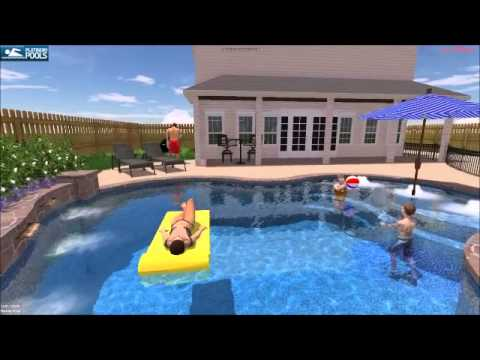 Platinum Pool Hanks Family Pool By Justin Ostrom Youtube