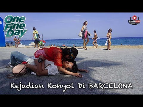 Kejadian Konyol Michelle Ziudith, Jefri Nichol & Maxime Bouttier di Barcelona