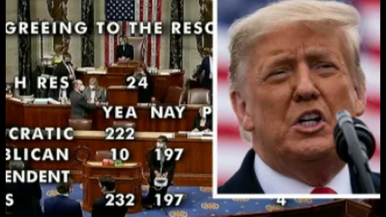 Trump Impeached by House for Second Time