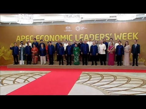 Vietnam APEC Summit 2017  Dinner  Nov 10  Pres Trump participates in an official welcome for APEC