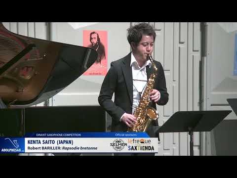 Kenta Saito (Japan) - Rapsodie bretonne by Robert Bariller (Dinant 2019)