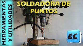 Como hacer una soldadora de puntos con transformador de microondas