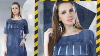 Designer Kurtis   trendy kurtis   latest summer kurti Denim kurti