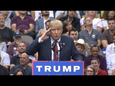 Donald Trump Rally in Toledo, OH FULL SPEECH HD STREAM (7-27-16)