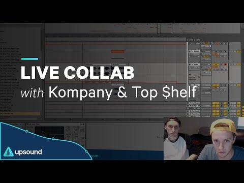 Kompany and TOP $HELF - Live Collab (Mar 2017)