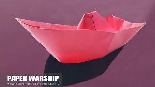 Cách Gấp Tàu Chiến Cực Dễ | Chiến Hạm Hoàng Sa