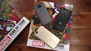 Billion Capture+ VS Moto G5s Plus and Mi A1 , Benchmarks, Gaming and Camera