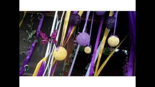 Выездная регистрация брака в сиреневом цвете