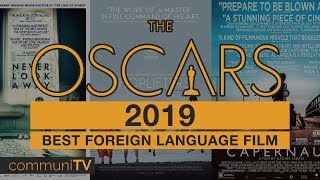 Best Foreign Language Film Nominations  Oscars 2019