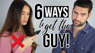 6 Ways To GET A GUY TO LIKE YOU (Or Improve Your Relationship)