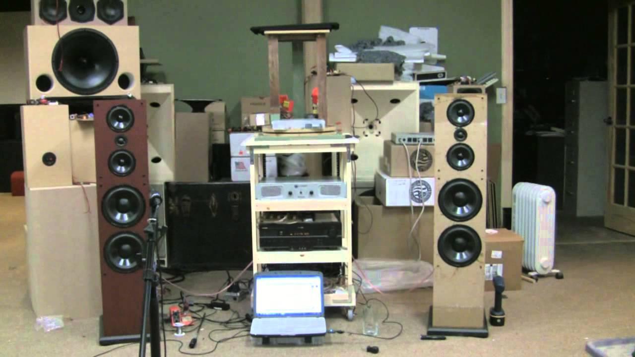 speaker cabinet design plans