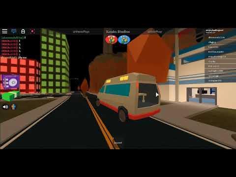 Jailbreak Ambulance Update Driving The Ambulance In Jailbreak Roblox Leaks Youtube