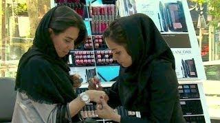 Schön unter dem Kopftuch: Kosmetik-Boom im Iran