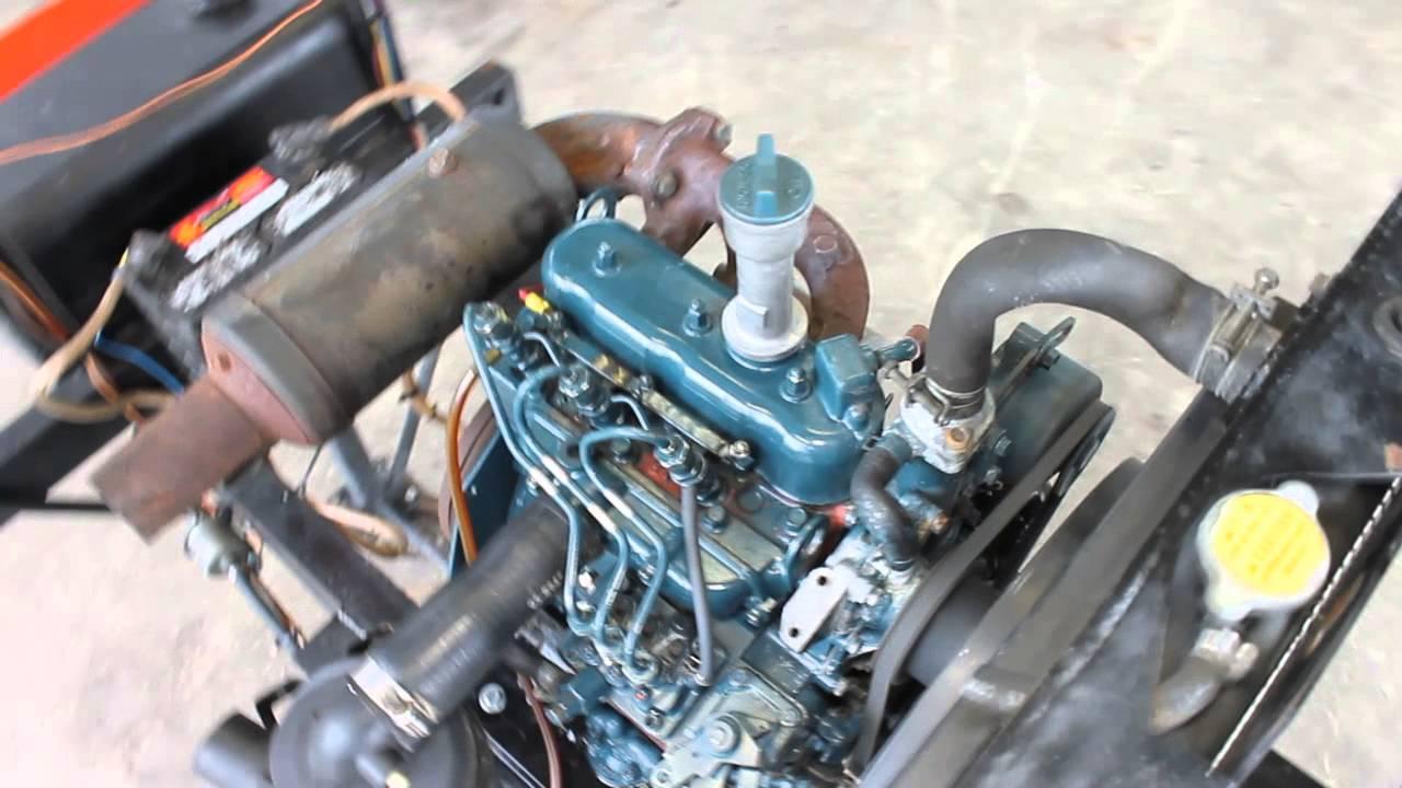 kubota d722 diesel engine 002  YouTube