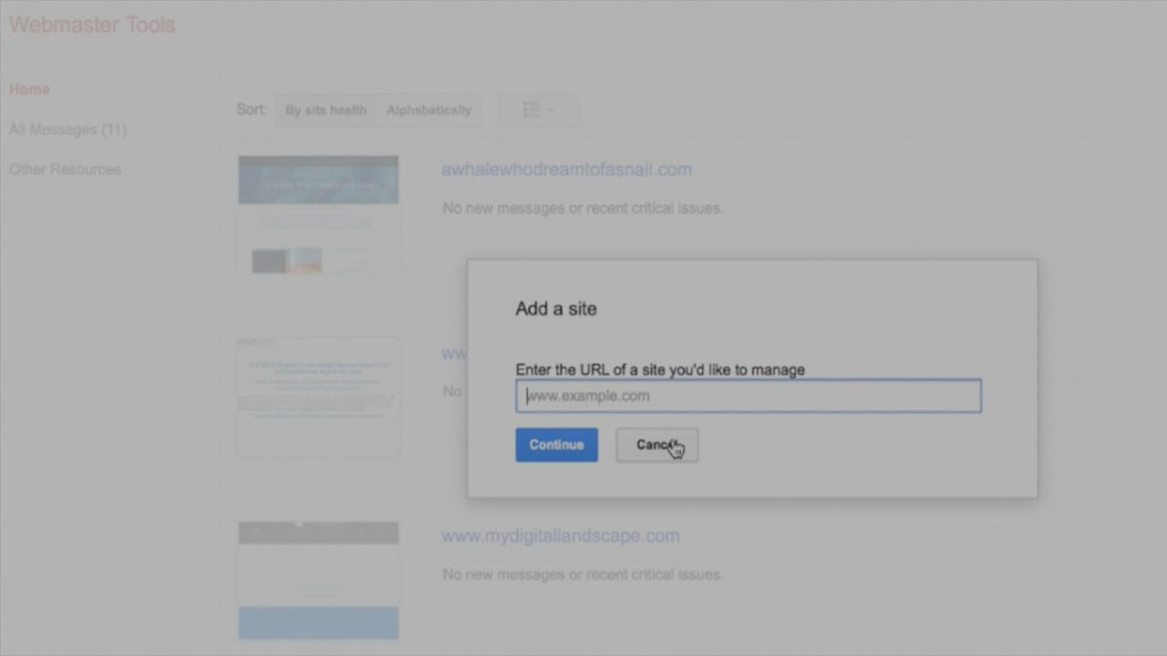 submitting sitemap for a squarespace website to google bing