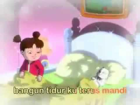 Bangun Tidur  Video Lagu Anak anak