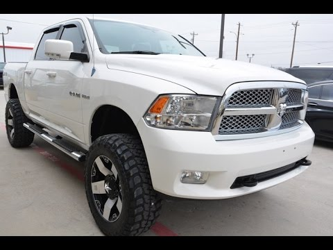 2009 dodge ram 1500 laramie 5 7l hemi lifted trucks youtube. Black Bedroom Furniture Sets. Home Design Ideas