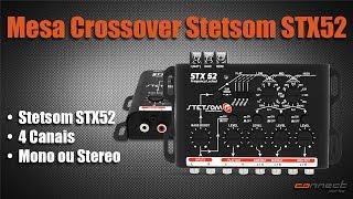 Mesa Crossover Stetsom STX52 4 Canais Mono ou Stereo Automotivo