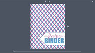 Recipe Binder Preview - 73 Pages