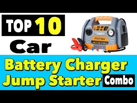 Best Car Battery Charger and Jump Starter Combo | Top 10 Portable Car Battery Charger