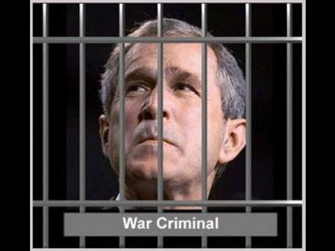 Bush Indicted and Found Guilty of War Crimes in Nuremberg International Court