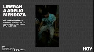 Confirman liberación de Adelio Mendoza en Concepción