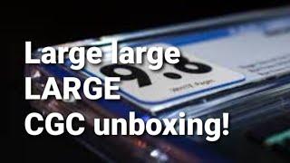 Large large LARGE CGC unboxing!