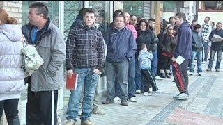 Безработица в Испании - 25%