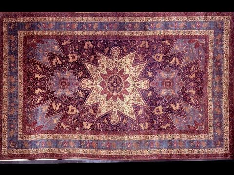 part-1 , Ղազիրի գորգը , Ghazir rug with  Missak Kelechian ,  Газирский ковер Washington DC