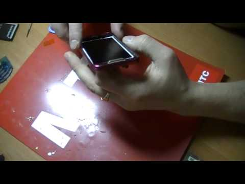 Samsung S5230 замена сенсора, разборка