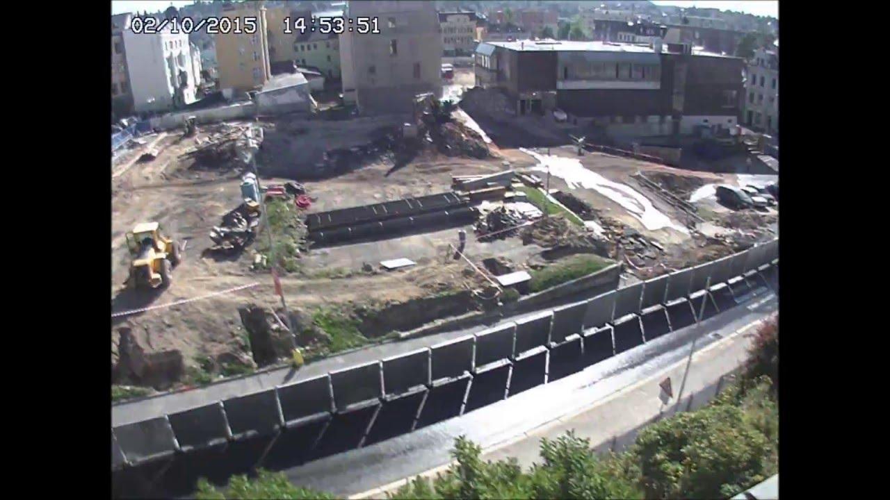 a48d2a039c Central Jablonec - výstavba obchodního centra - YouTube