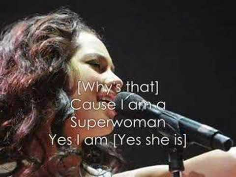 Superwoman song lyrics