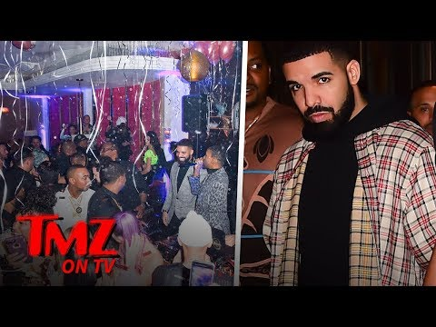 DJ Slab 1 - Drake's NYE Party Is Full Of His Previous Enemies & Friends