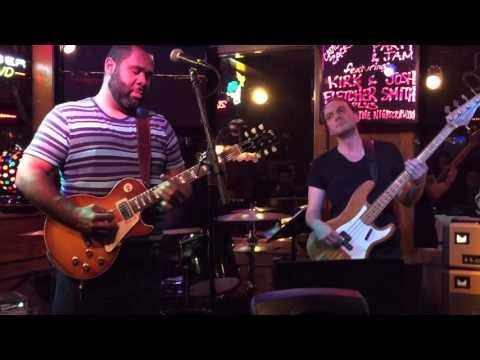 Kirk Fletcher with Josh Smith.Nick Campbell.Bass.Jaydon Bean.Drums.