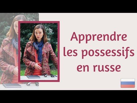 Apprendre les possessifs en russe : мой, моя, моё, мои... utilisé dans la page Apprendre les possessifs en russe : мой, моя, моё, мои...