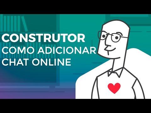 Construtor - Como Adicionar Um Chat Online