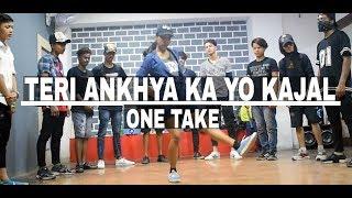 Teri Ankhya Ka yo Kajal || Dance || Beginners Class || Choreography Rishabhpokhriyal@