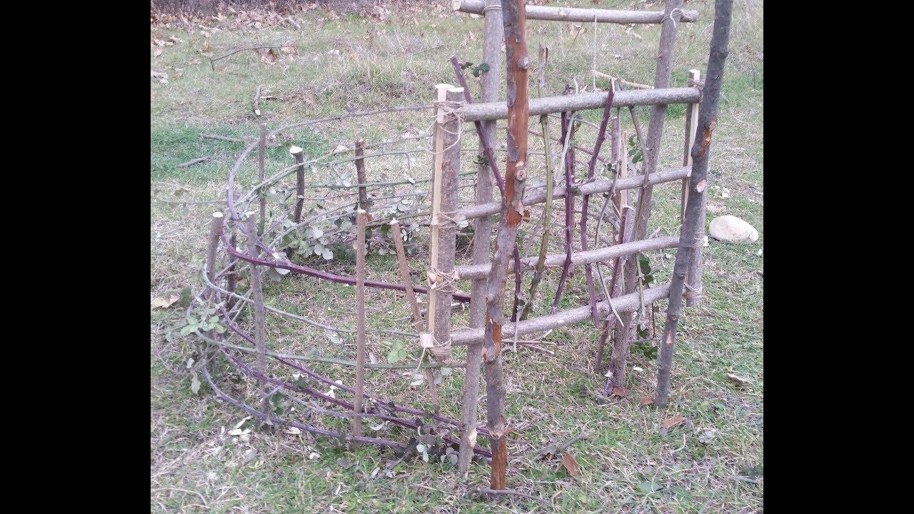 464446bf6791 ΕΠΙΒΙΩΣΗ. Παγίδα κλουβί (cage trap) για εκτροφή ζώων. - YouTube