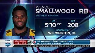 2016 NFL Draft Rd 5 Pk 153 | Philadelphia Eagles Select RB Wendell Smallwood