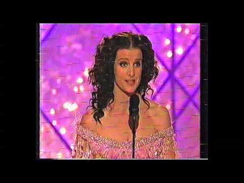 Rachel Griffiths Golden Globe Win 2002