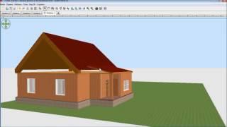 Sweet Home 3d. Проект дома с участком! Часть 4:  Крыша!