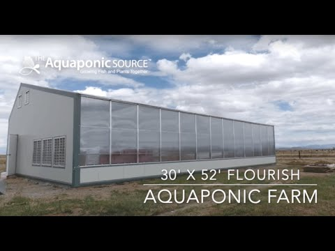 I Choose Family Farms – Aquaponic Farm Build