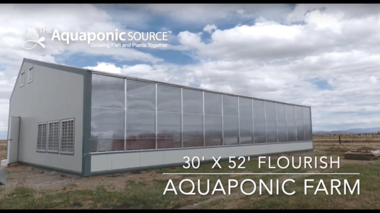 Flourish Farm Aquaponic Systems | The Aquaponic Source
