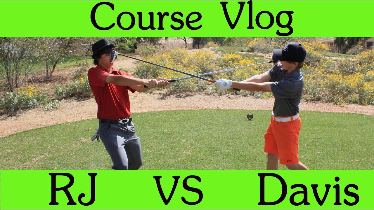 golf course vlog 9 hole match play rj vs davis part 1 doovi. Black Bedroom Furniture Sets. Home Design Ideas