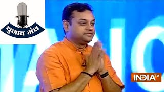 Sanjay Nirupam and Sambit Patra on India TV Chunav Manch