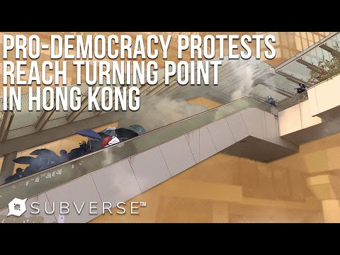 Citywide Clashes in Hong Kong Against Government on Chinese National Day | Subverse News