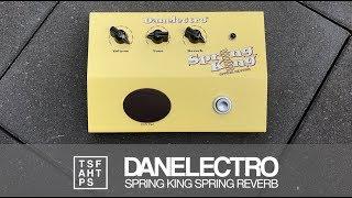 Danelectro Spring King Spring Reverb