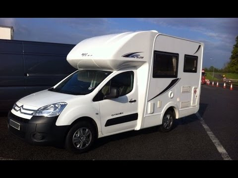 motorhome citroen berlingo 1 6td youtube. Black Bedroom Furniture Sets. Home Design Ideas