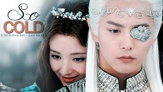 ying kong shi + lan shang (幻城) | you caused my heart to BLEED